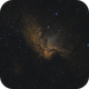 NGC 7380 - The Wizard Nebula in Bi Color,                                Johannes Josefsen