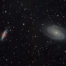 Bode's Galaxy (Close Crop) -2/16/2010,                                AstroPoverty