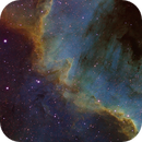 NGC7000 The Wall at the North America Nebula,                                Verio