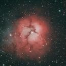 M20 Triffid Nebula,                                John Burns