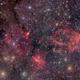 Nebulas an clusters in Cassiopeia,                                Martin Mutti