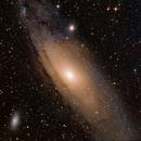 Andromeda Galaxy,                                Samuel Müller