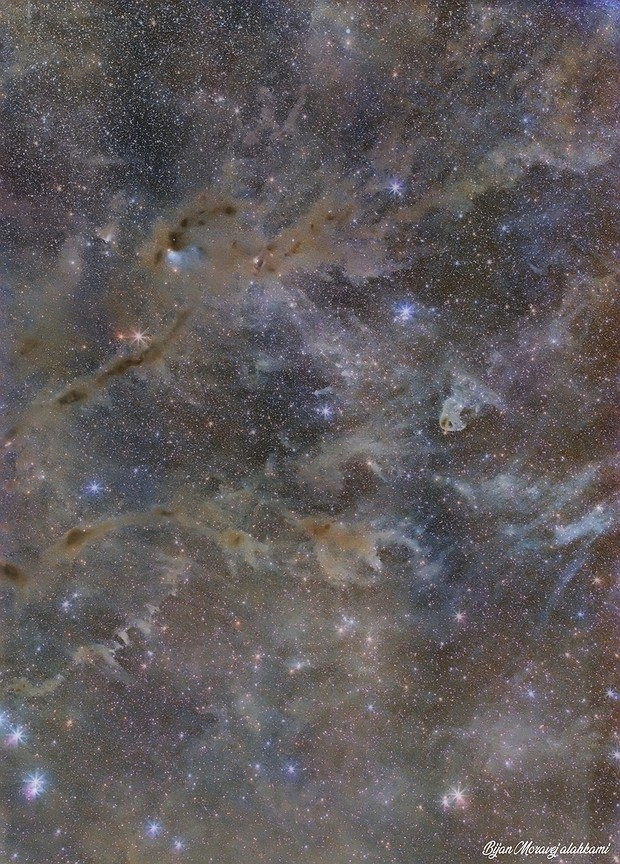 Dusty Nebulae& Molecular Clouds , LBN 782 &LBN 777 ( Baby Eagle Nebula) ,ic360,IC359  in Taurus,                                Bijan Moravej alahkami