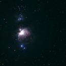 M42 with many IRRITATING SATELLITES!,                                Sigga