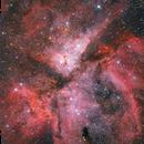 Eta Carinae Nebula - Reprocessed,                                Gabriel R. Santos...