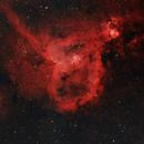 Heart and Soul Nebula - HOO,                                Mark Kuehner