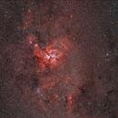 Nebulosity around Eta Carinae,                                Frank