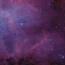 NGC7000 - HOO with RASA8,                                OlympusMons-UMONS