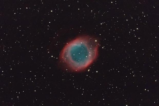 NGC 7293 Helix planetary nebula,                                Giuseppe Nicosia