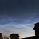 Noctilucent Clouds 22-6-2020,                                Steve Ibbotson