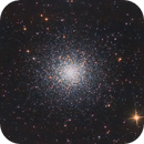 M13 - Hercules Cluster,                                Chris Barthel