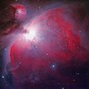Orion Nebula, M42,                                James Schellenberg