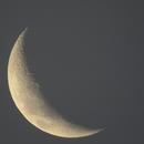 Lune 1205 - 22,8 % - 4,7 j - 123° - mag -9,72 - 376 980 km,                                Ariel