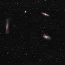 Conjunto de Galaxias Trio de Leo,                                Astrofotografia A.R.B.