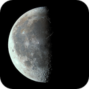 Third quarter moon (22 days old),                                Sven Kreiensen