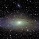 M31 Andromeda Galaxy,                                Stub Mandrel