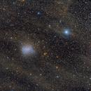 Barnards Galaxy NGC 6822,                                Frank