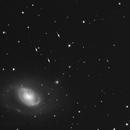 4 Asteroid flyby of M96 Animation loop,                                John D (jaddbd)