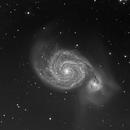 Messier 51,                                Ivo T.