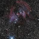 IC 2944 Running Chicken Nebula (part of),                                chaosrand