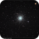 M3, LRGB with lots of Moonlight, 26 Apr 2018,                                David Dearden