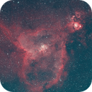 Heart Nebula - Quick Color combination of Ha & Oiii data,                                Jamie Smith