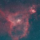 Heart Nebula - Quick Color combination of Ha & Oiii data,                                Jamie Smith