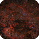 Southern Cross and Coalsack in Ha-RGB,                                Rolf Dietrich