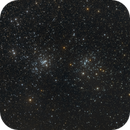Double Cluster (NGCs 869 & 884) LRGB - 22 Jan 2021,                                Geof Lewis