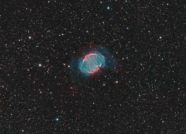 Dumbbell Nebula,                                Giorgio Baj