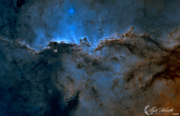 NGC6188 The Fighting Dragons of Ara Starless,                                Mark Forteath