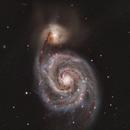 Whirlpool Galaxy, M51,                                Debra Ceravolo