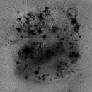 LMC Spiral Structure Revealed in Hydrogen Alpha,                                John Gleason
