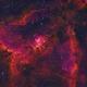 Heart Nebula (IC1805; Sh2-190) HaHSO,                                Pam Whitfield