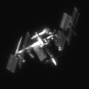 ISS transit above Sardinian Sky (54°) 2019.07.20,                                Alessandro Bianconi