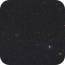 Comète 88P Howell LULU (étoiles),                                Corine Yahia (RIGEL33)