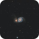 M51 Whirlpool Galaxy,                                Piotr Zyziuk