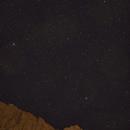 Zion Nightscape - View Towards West Temple,                                JDJ
