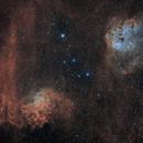 IC 405 and 410 Closeup in HOO,                                Alex Roberts