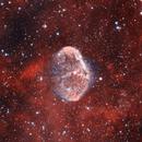 Crescent Nebula,                                AstroArmadillo
