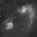 IC 405 Flamingstar Nebula, H-Alpha,                                Joschi