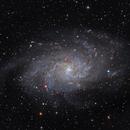 M33 Triangulum Galaxy,                                Wes Higgins