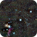 NGC2024 constellation d'Orion,                                laup1234