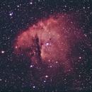 NGC 281 Pacman Nébula,                                Eric COUSTAL ( F5ODA )