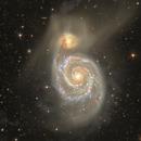 M51 Stellar Streams + HI stream,                                Giuseppe Donatiello