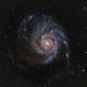 M101 Pinwheel Galaxy in HaRGB,                                JohnAdastra