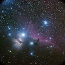 Horse Head Nebula and Flame Nebula,                                Acubens