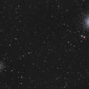 M53 Globular Cluster & NGC 5053 Irregular Cluster,                                Bernhard Zimmermann
