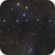 Coathanger asterism in Vulpecula - two panel mosaic,                                Steve Milne
