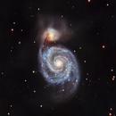 M51 - Whirlpool Galaxy,                                HixonJames